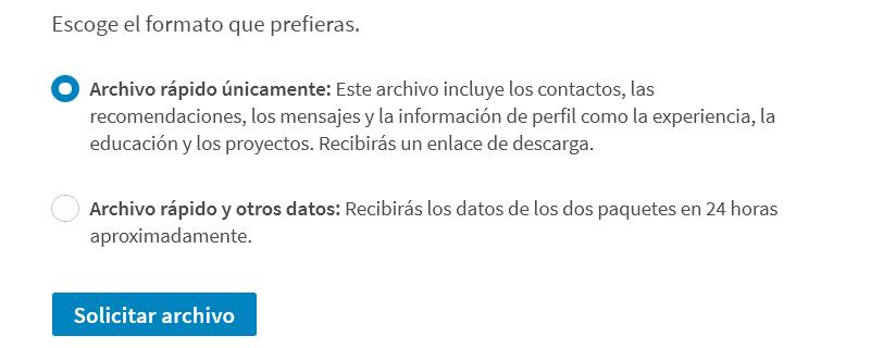 tipos de archivos de descarga