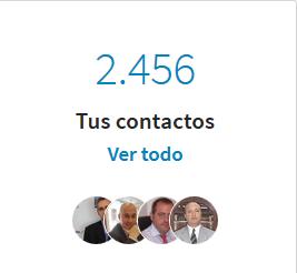 tus contactos LinkedIn