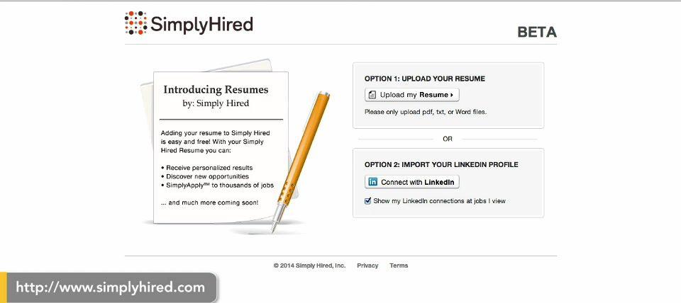 linkedin y simply hired