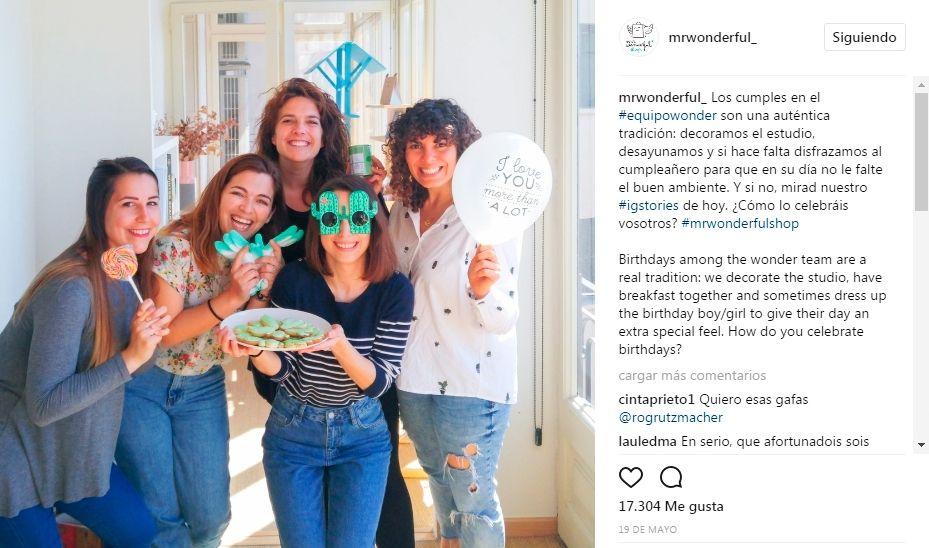 Emplo cómo usar instagram: mister wonderful