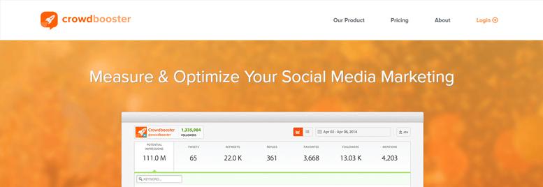 Aplicaciones de redes sociales - Crowdbooster