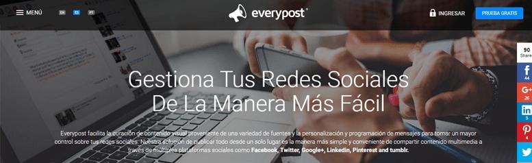 Aplicaciones de redes sociales - Everypost