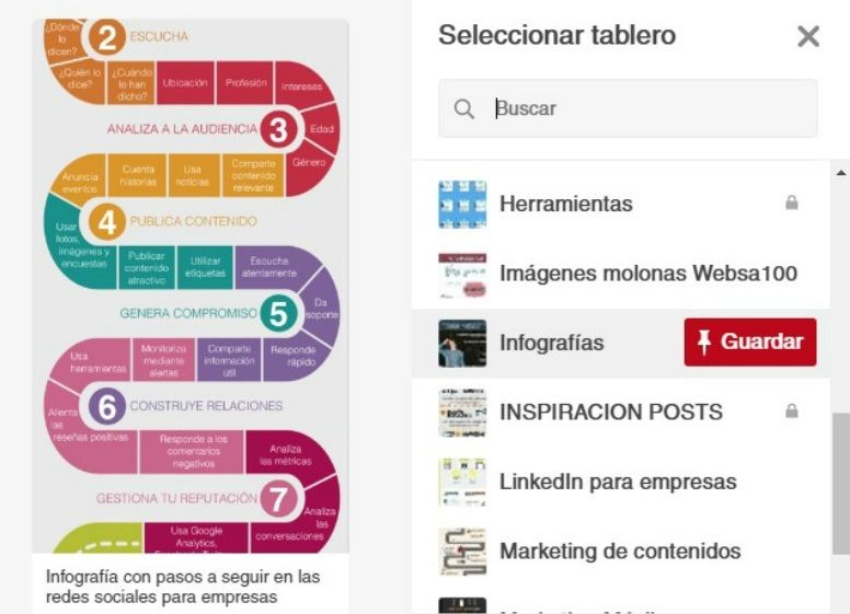 Pinear en Pinterest Paso 2