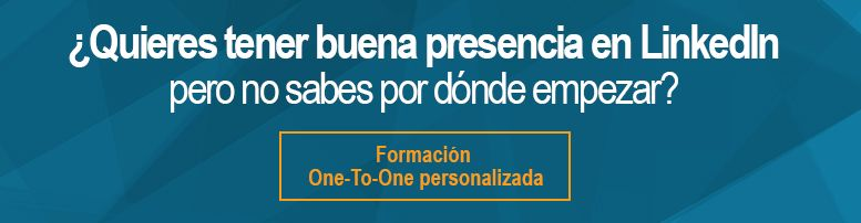 Formación one to one en LinkedIn