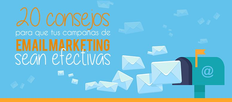 20 consejos email marketing