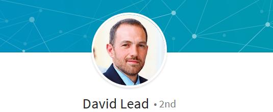 ejemplo de perfil falso en LinkedIn