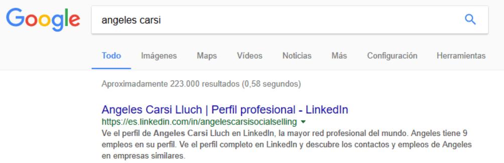 Buscar Angeles Carsi en Google