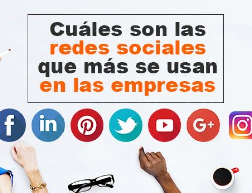 Cuáles son las redes sociales que más se usan en las empresas