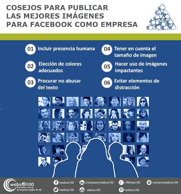 infografía imágenes para facebook