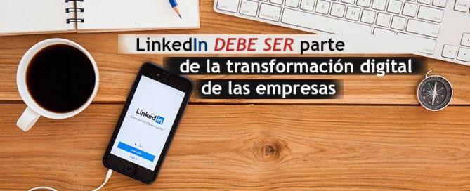 transformación digital empresas linkedin