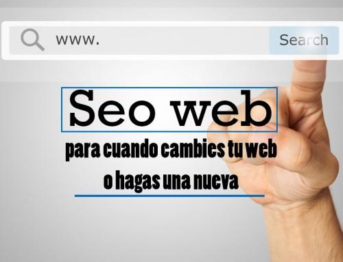 SEO Web inicial para cuando cambies tu página o hagas una nueva