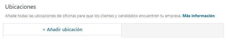 LinkedIn para empresas - Ubicaciones en página de empresa en LinkedIn