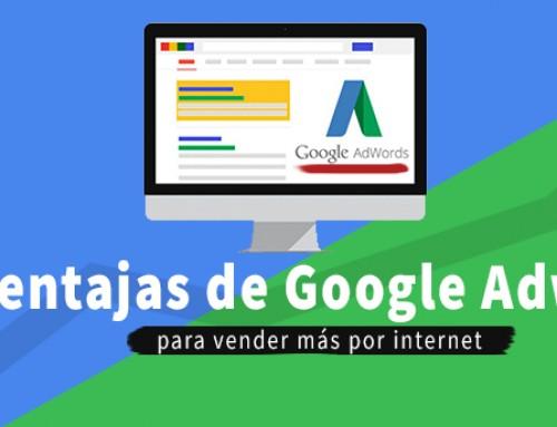 10 Ventajas de Google Adwords para vender más por internet