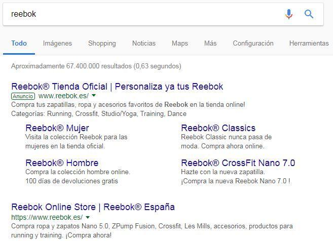 ventajas de google adwords anuncio marca