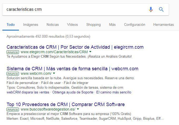 ventajas de google adwords caracteristicas