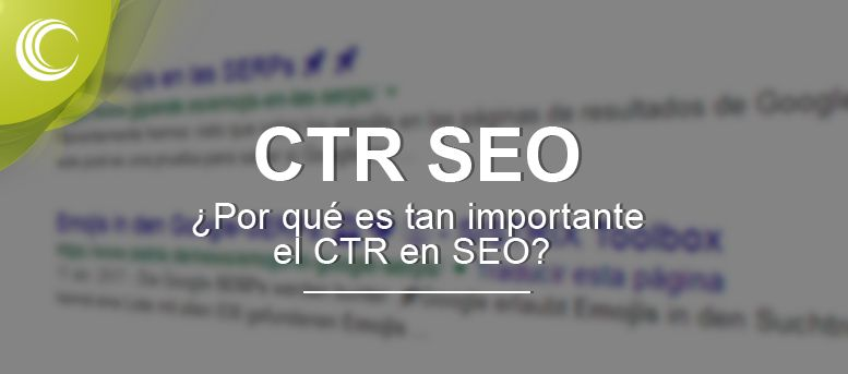 CTR SEO importancia