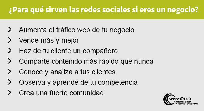 Para qué sirven las redes sociales si eres un negocio