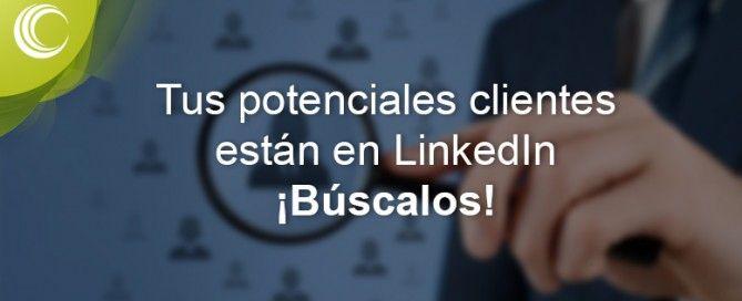 clientes potenciales en LinkedIn