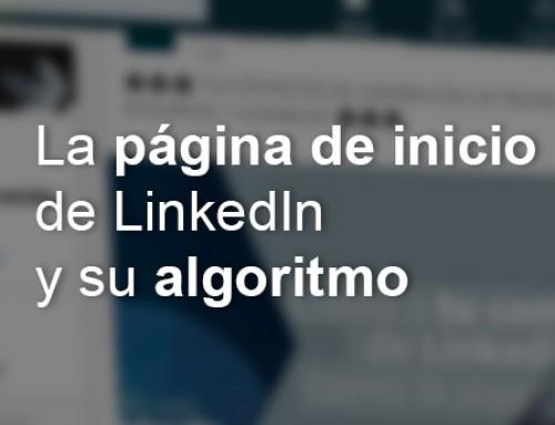 Lo que ves en tu página de inicio de LinkedIn es lo que su algoritmo decide