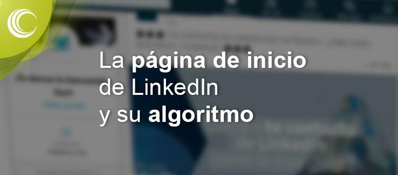 página de inicio linkedin