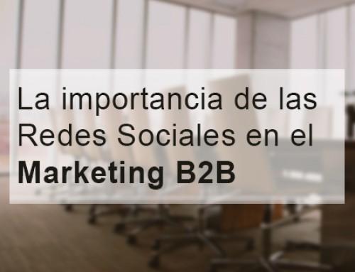 6 Consejos para Redes Sociales de Marketing B2B