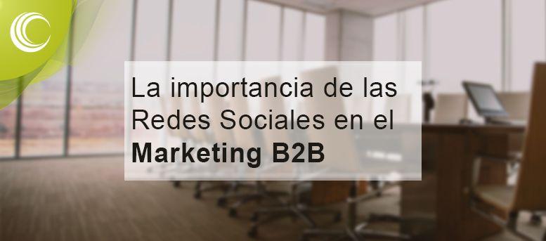 redes sociales marketing b2b