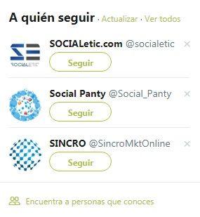 A quién seguir en Twitter