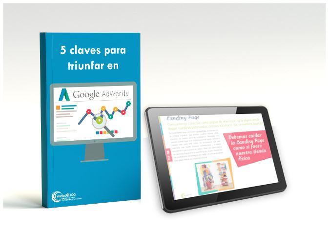 5 claves mejorar en adwords ebook tablet