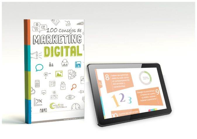 eBook tablet 100 consejos marketing digital