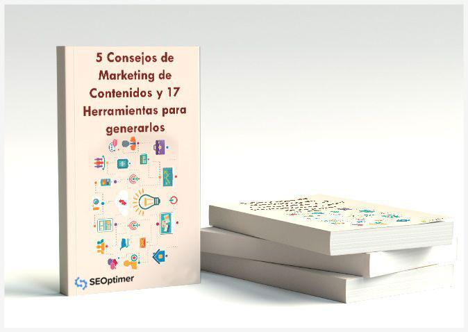 ebook 5 consejos de marketing de contenidos y 17 herramientas para generarlos
