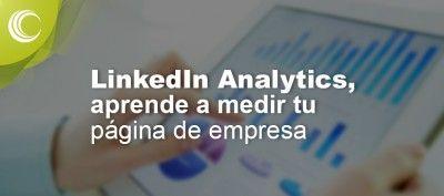 linkedin analytics pagina empresa