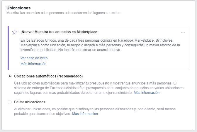 crear anuncios en facebook marketplace