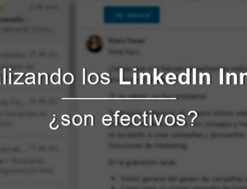 Analizando los LinkedIn Inmail, ¿son efectivos?