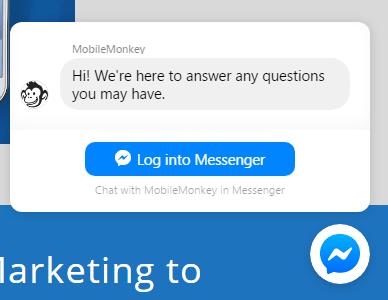 Botón Messenger
