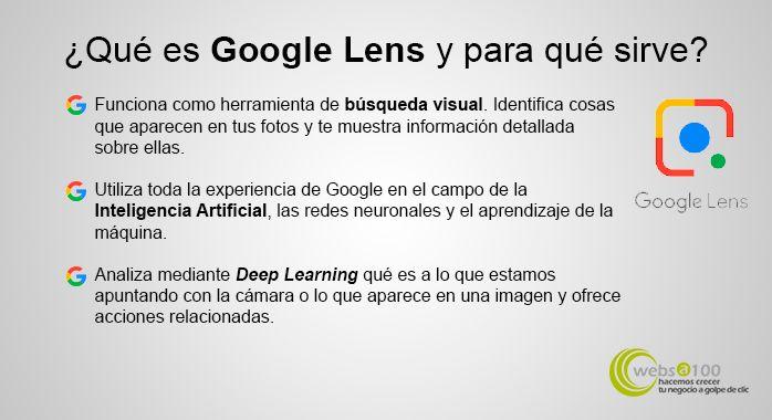 Google lens funciones inteligencia artificial