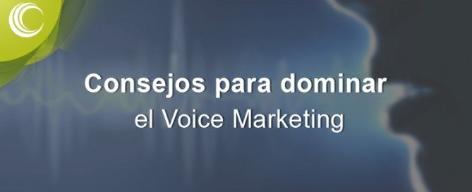 Voice Marketing