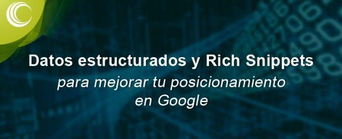 Datos estructurados y Rich Snippets