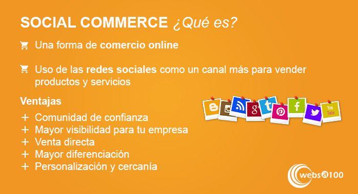 Social commerce infografia