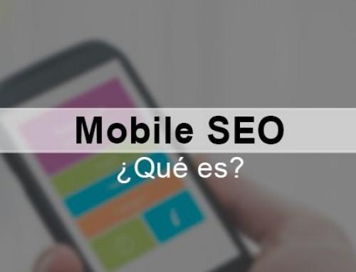 Mobile SEO. ¿Qué es?