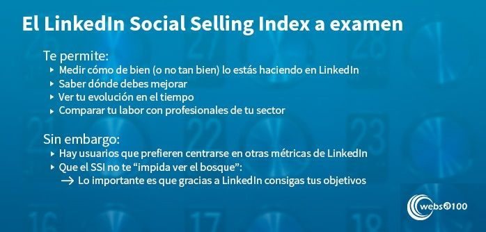 LinkedIn Social Selling Index - Infografía