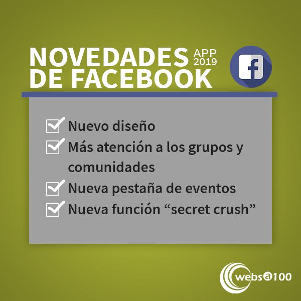 novedades facebook app
