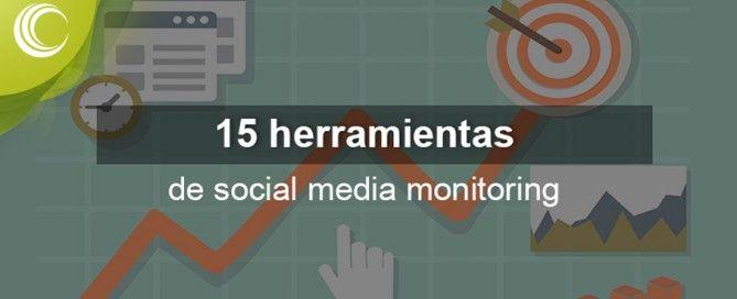 herramientas social media monitoring