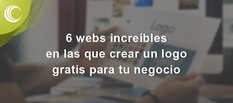 6 webs increíubles en las que crear un logo gratis para tu negocio