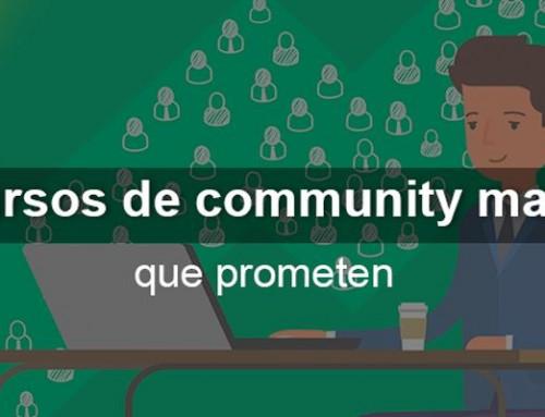 10 cursos de community manager que prometen