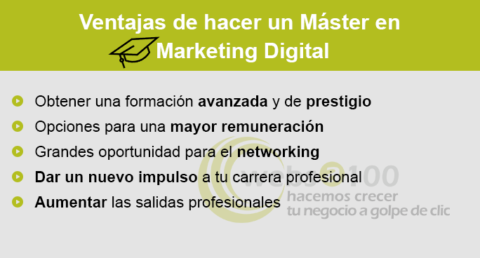 infografia master en marketing digital