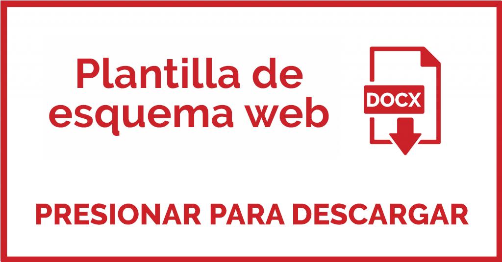 Plantilla de esquema web