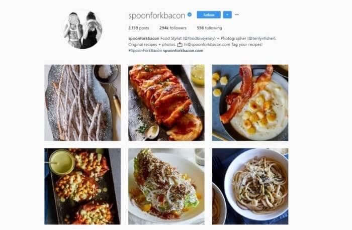 Crear un plato para Instagram