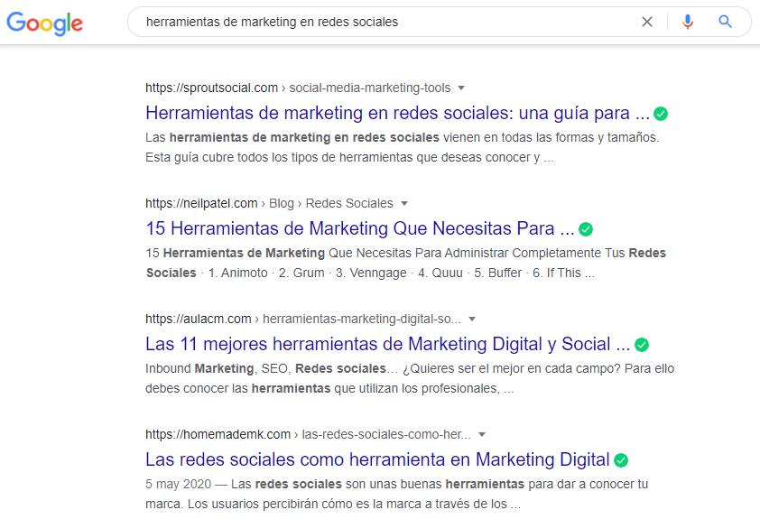 social media marketing tools google