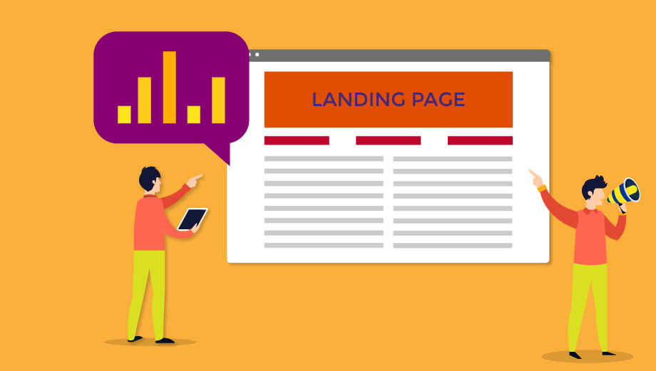 Landing page o sitio web